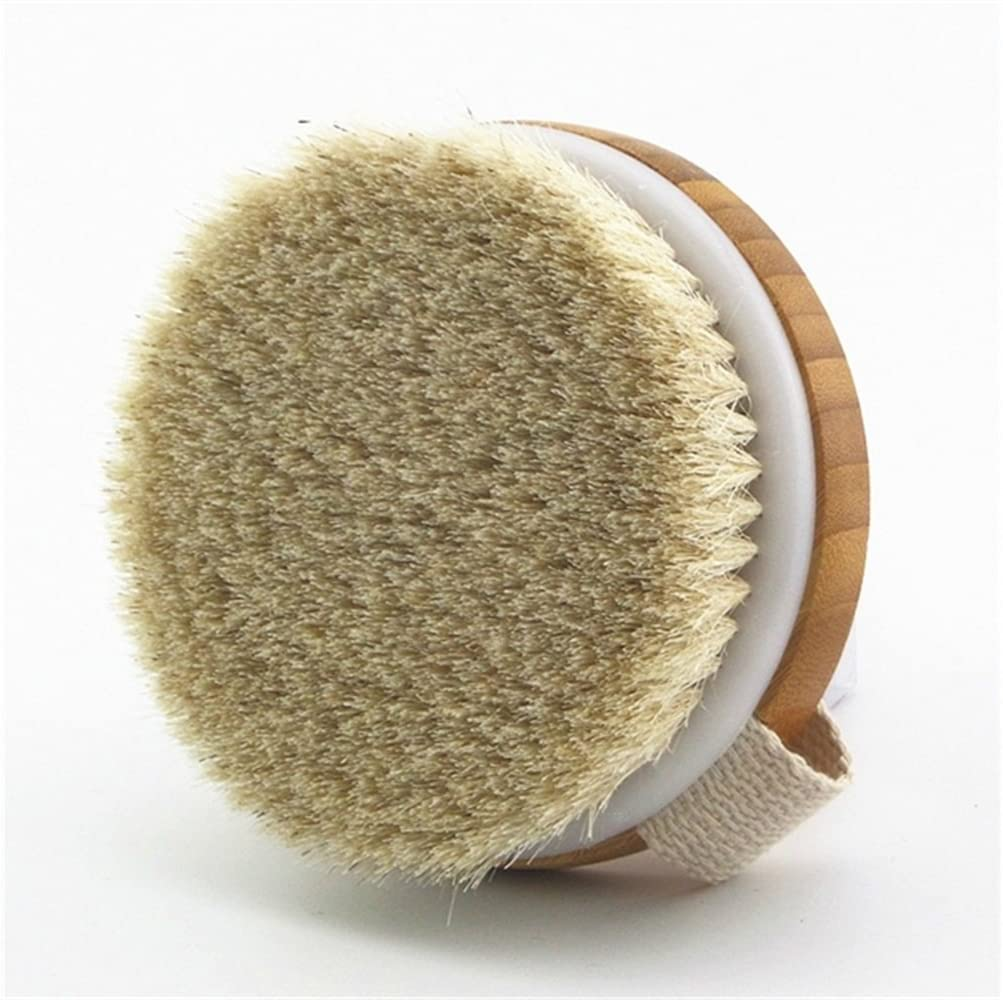 Round Body Brush with Strap