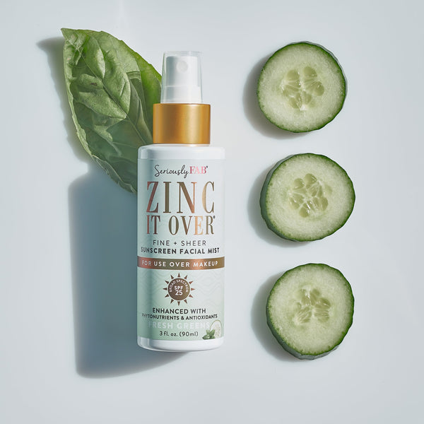 Sunscreen Facial Mist | Fresh Greens SPF 25