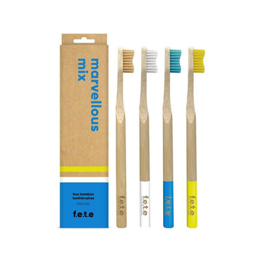 Multi Pack Bamboo Toothbrushes | Medium Bristles (1746903269447)