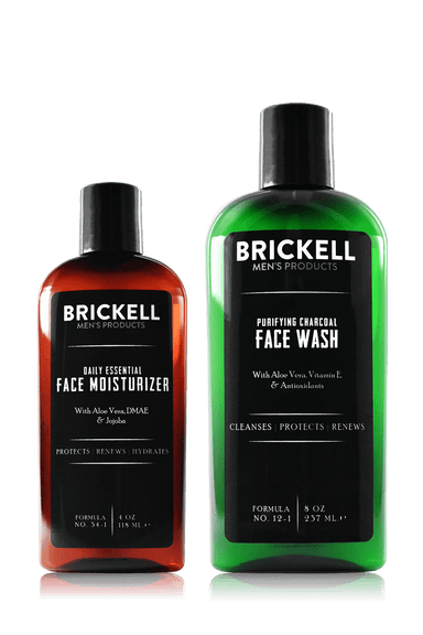 Men's Daily Essential Face Care Routine II (4879385133127)