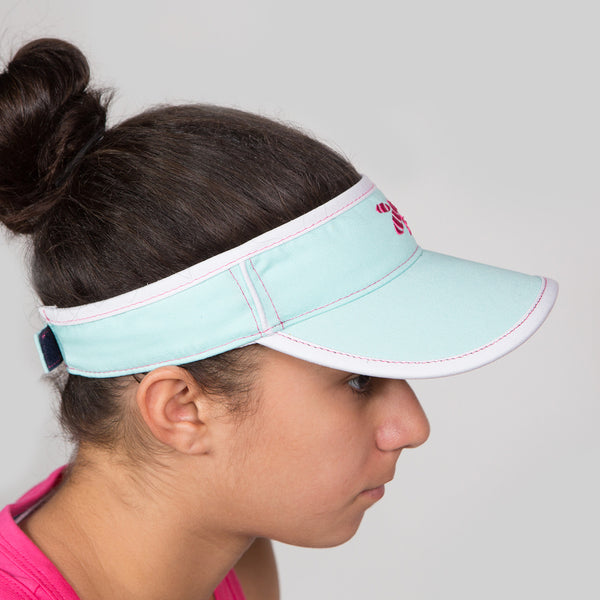 Organic Girls Visors (Wyoming Sky)
