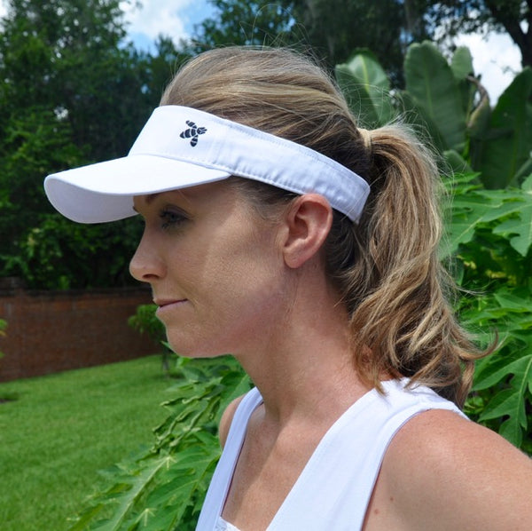 Organic Saba Visor in Summer Cloud