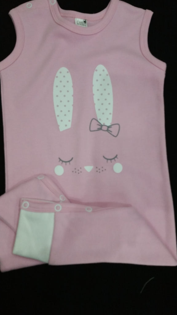 My Lolapot Rabbit pink hamper 12-18m
