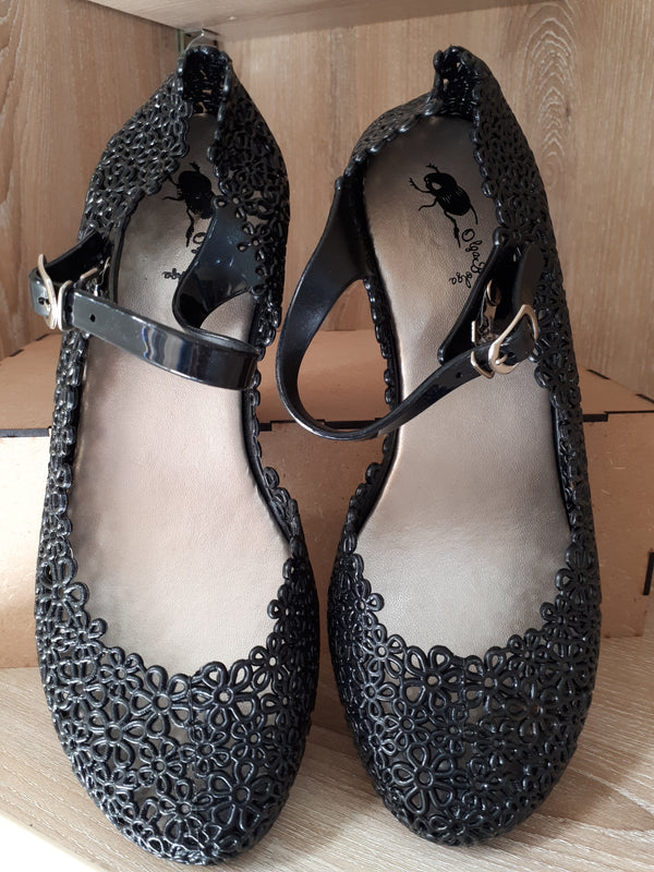 Olga Bolga Jelly Shoes Black