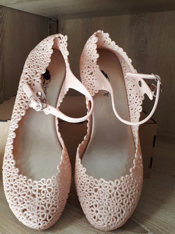 Olga Bolga Jelly Shoes Nude