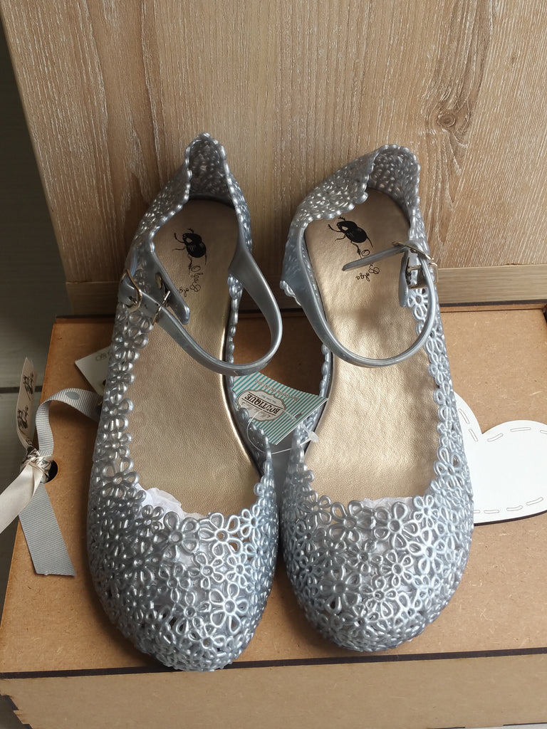 Olga Bolga Jelly Shoes Silver