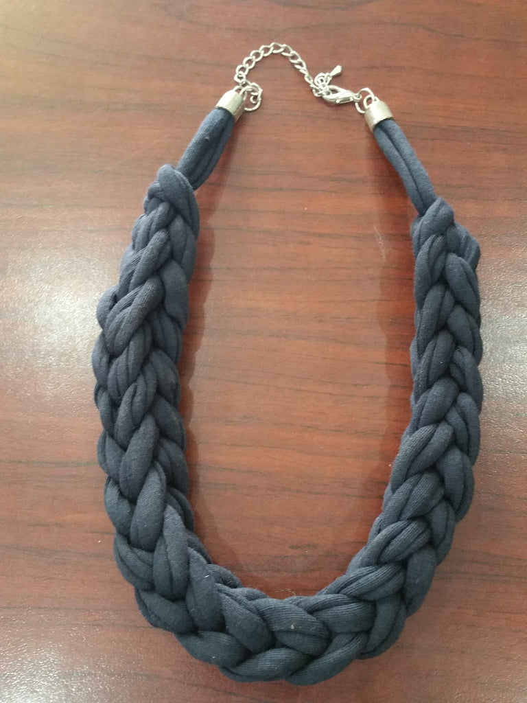 Grace. Plait Necklace