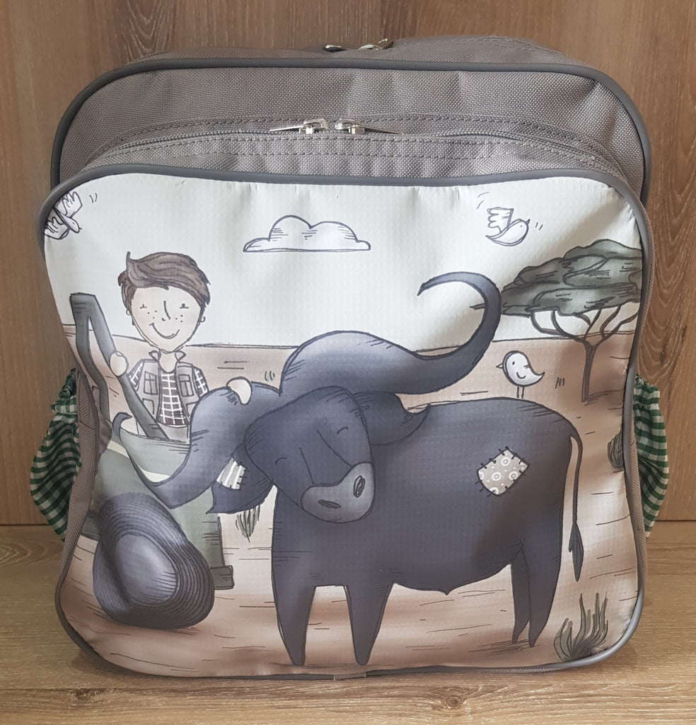 Backpack - Boy with Buffalo (Safari Range)