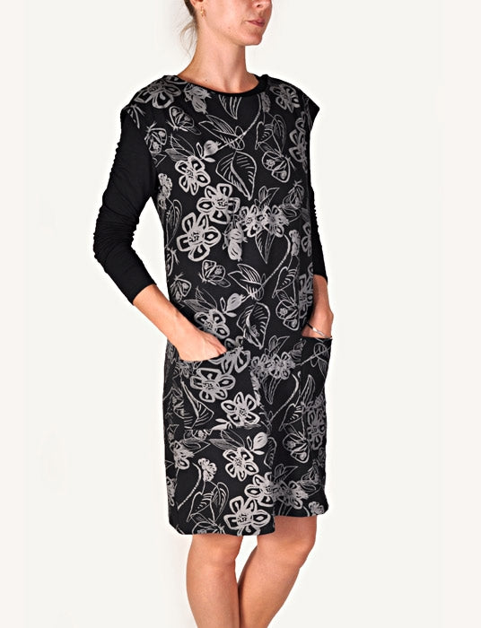 Sway Lola dress black/stone symphony