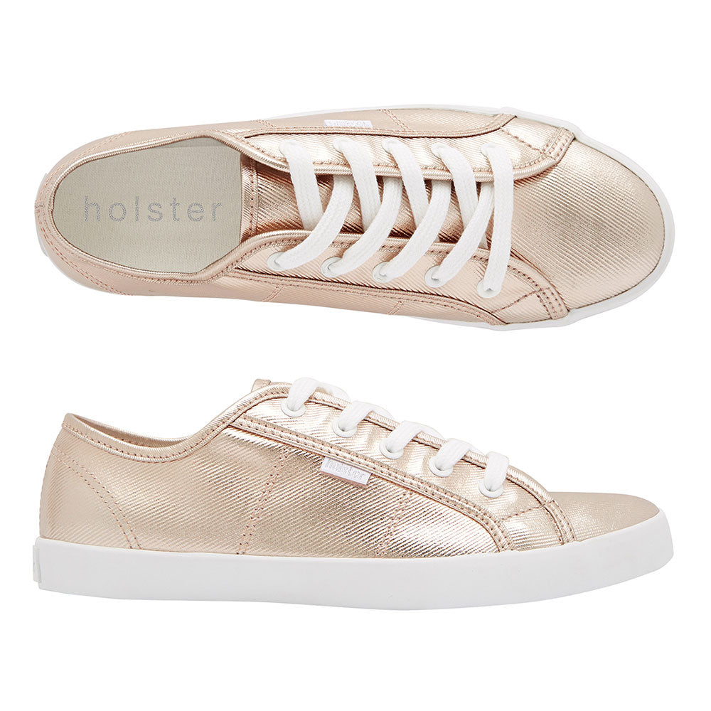 Rose Bronze Sneakers