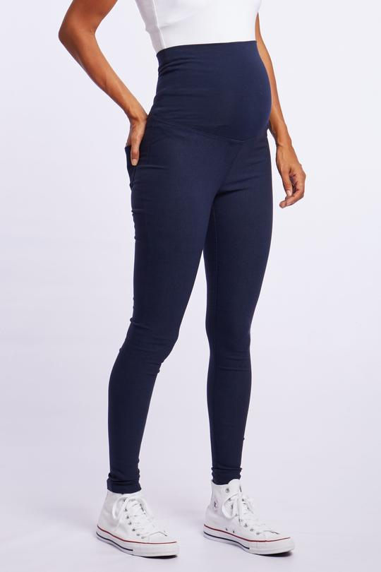 CM407 - Navy High Stretch Skinny Pants