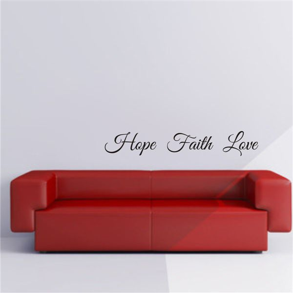 "The Letter Lady ""Hope Faith Love"""
