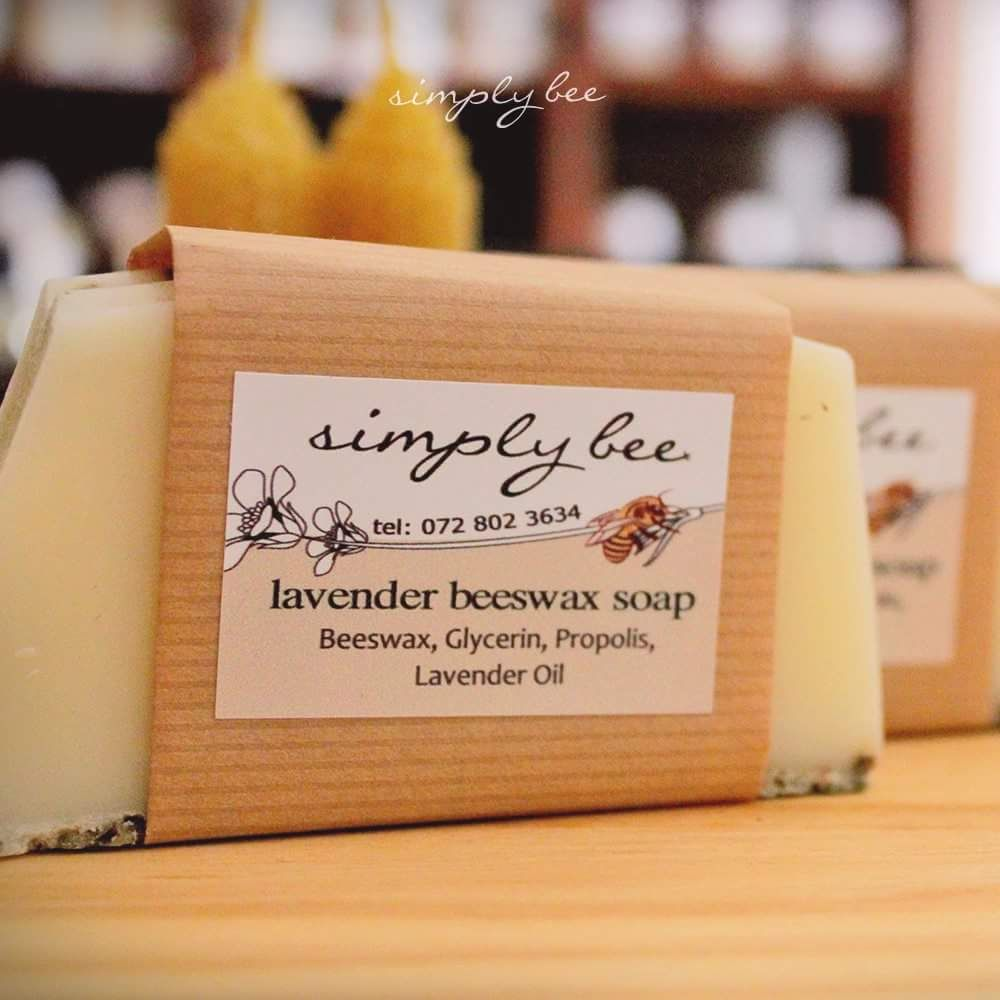Simply Bee Beeswax Soap Lavender 90g