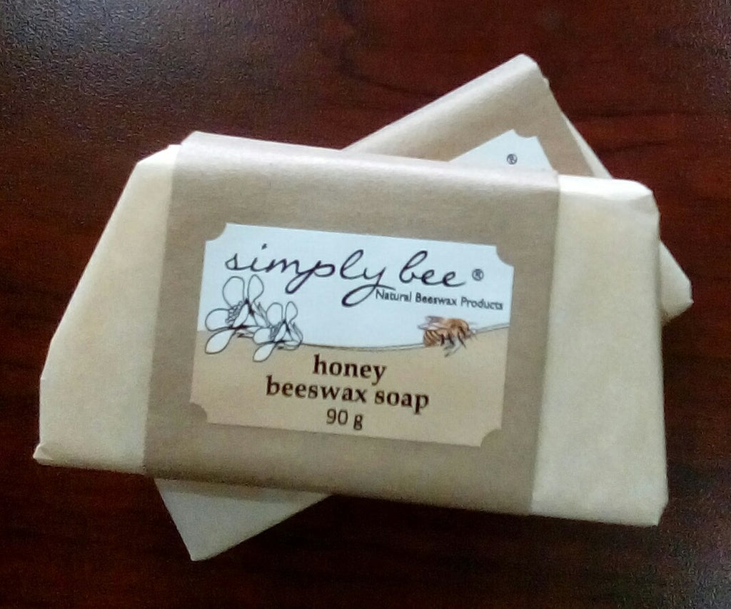 Simply Bee Beeswax Soap Honey - 90g