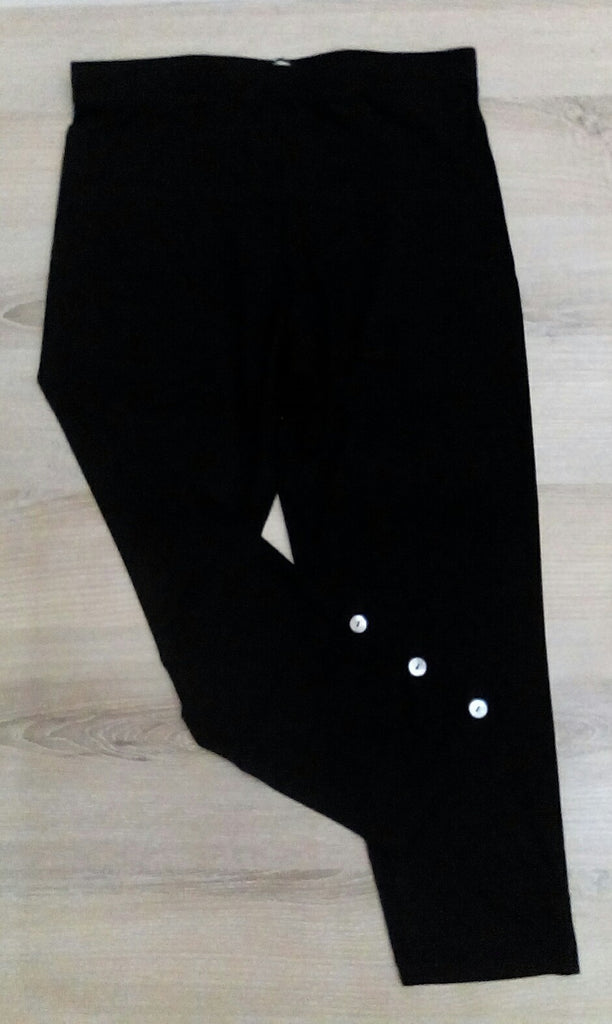 Lief. Black 3/4 pants