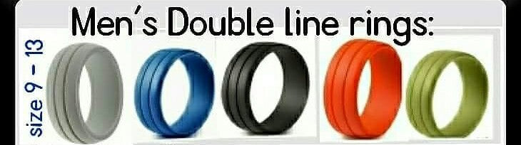 Double Line Rings