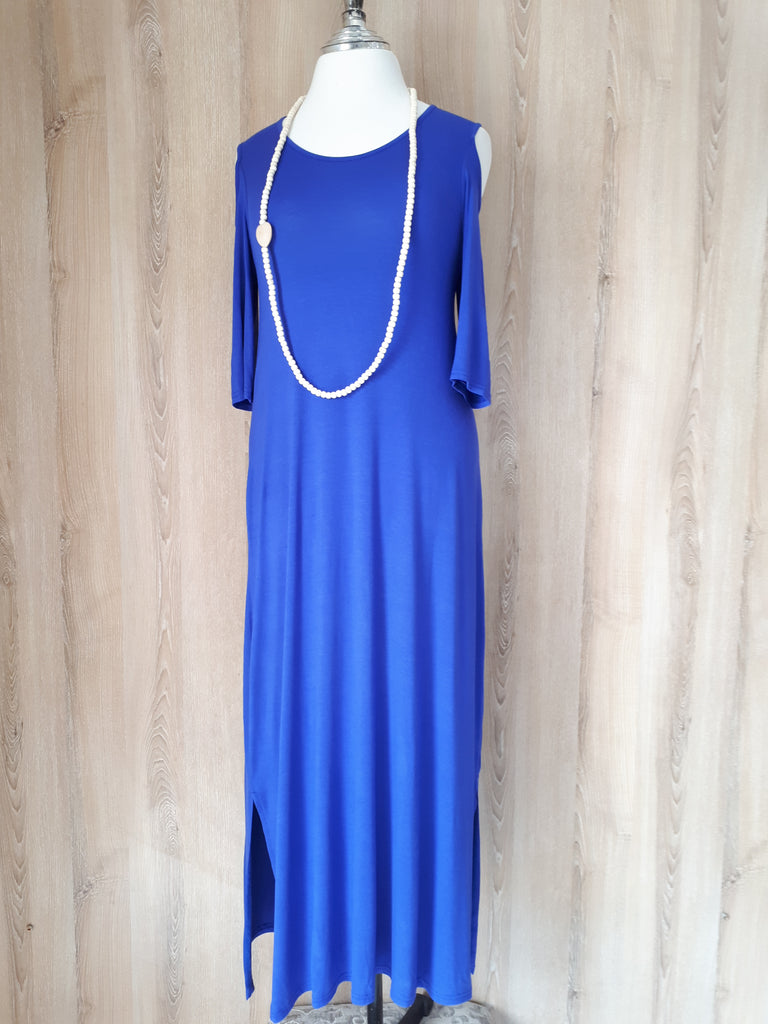 P. Royal Blue Nia Dress