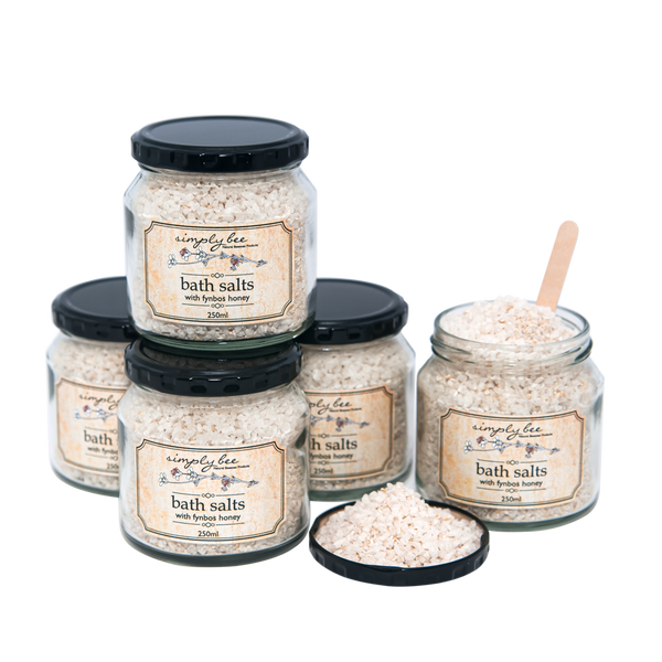 Bath Salts with Fynbos Honey - 250ml