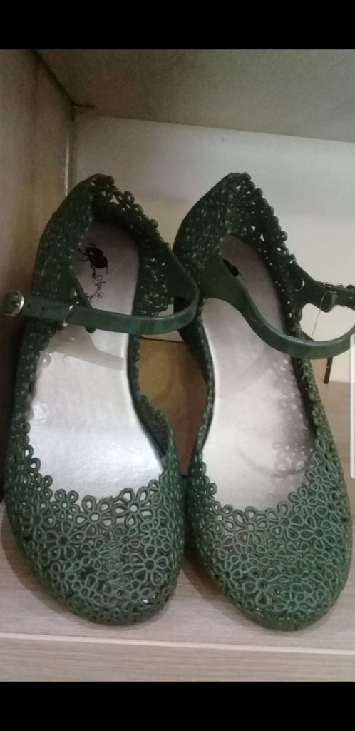 Olga Bolga Jelly Shoes - Khaki