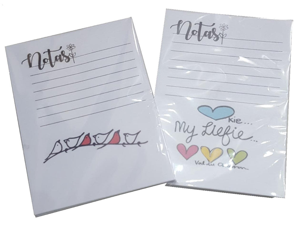 VAL007 - Small Notepads