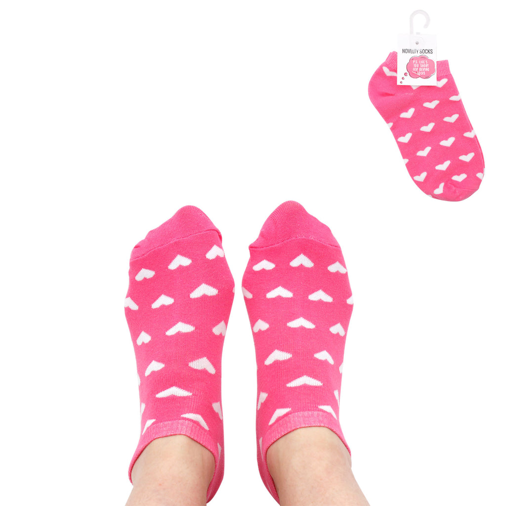 Copy of Valentine's Socks Pink/Hearts