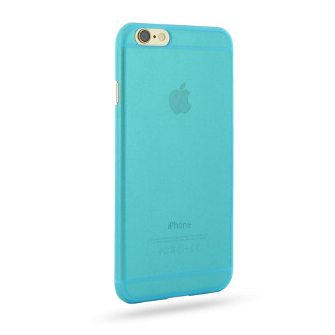 iPhone 6 6s 0.6mm Ultra thin Plastic Cover (Blue) :: PDair 10% OFF