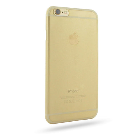 iPhone 6 6s 0.6mm Ultra thin Plastic Cover (Gold) :: PDair 10% OFF