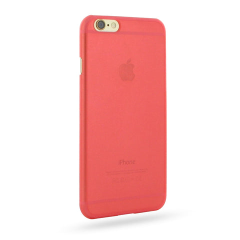 iPhone 6 6s 0.6mm Ultra thin Plastic Cover (Red) :: PDair 10% OFF