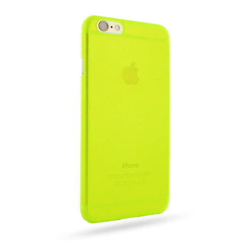 iPhone 6 6s 0.6mm Ultra thin Plastic Cover (Yellow) :: PDair 10% OFF