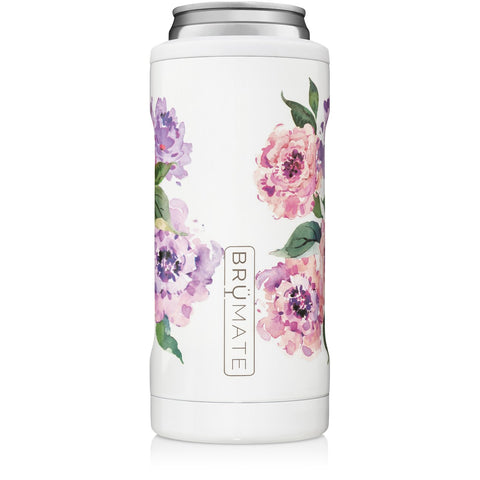 Peony Slim Can Cooler