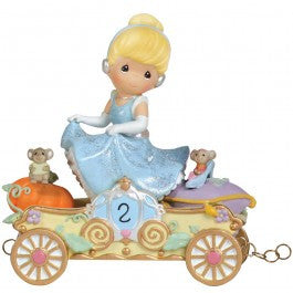 Precious Moments Disney Princess Train - Bibbidi. Bobbidi, Boo- Now You're Two!