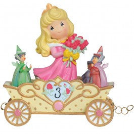 Precious Moments Disney Princess Train - Now You're Three, A Beauty You'll Always And Forever Be