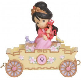 Precious Moments Disney Princess Train - Nine Is Divine!