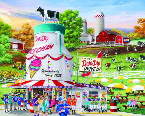 Dairy Bar Puzzle
