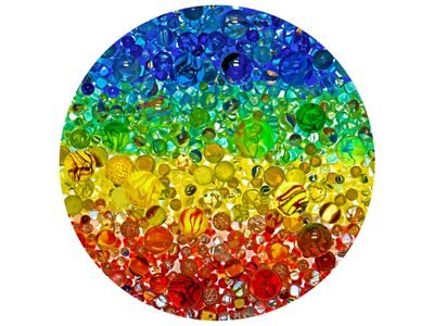 Illuminated Marbles Puzzle