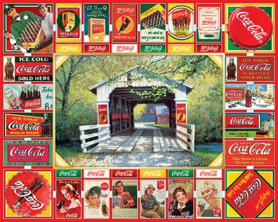 Coca Cola Game Board