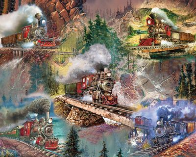 Thrilling Train Puzzle