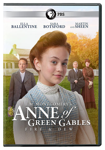 Anne of Green Gables: Fire and Dew DVD