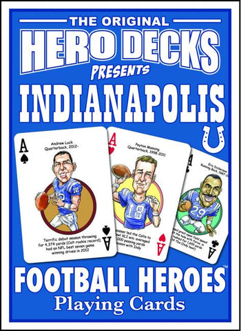 Colts Hero Deck Cards