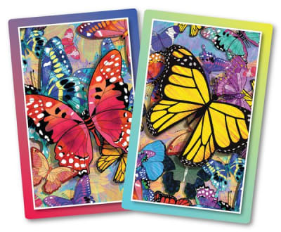 Butterfly Frenzy Jumbo Print Playing Cards