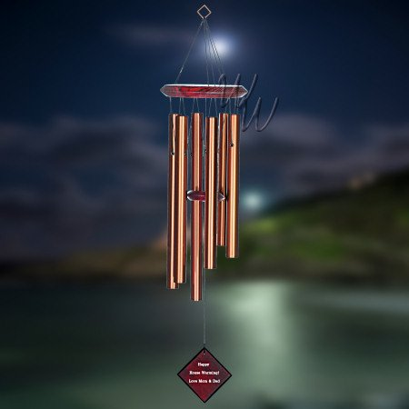 Chimes of Pluto Wind Chime Bronze