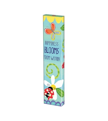 Happiness Blooms Art Pole