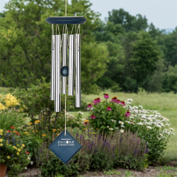 Woodstock Chimes - Chimes of Mars - Blue Wash