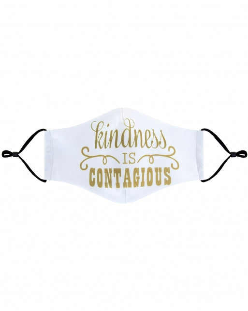 Kindness is Contagious Face Mask