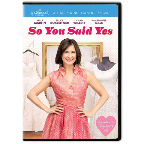 So You Said Yes DVD