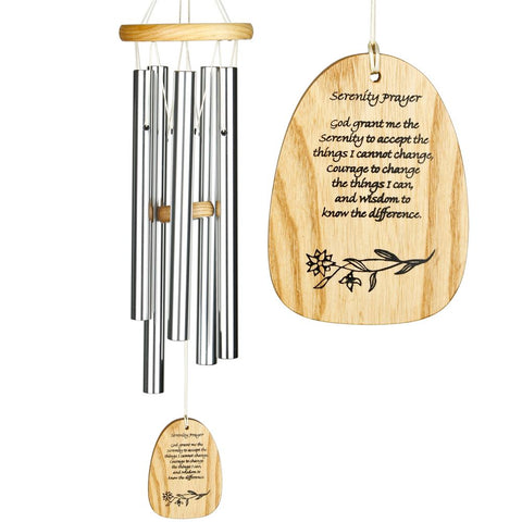 Reflections Wind Chime - Serenity Prayer