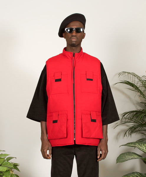 Pacheco Vest Red