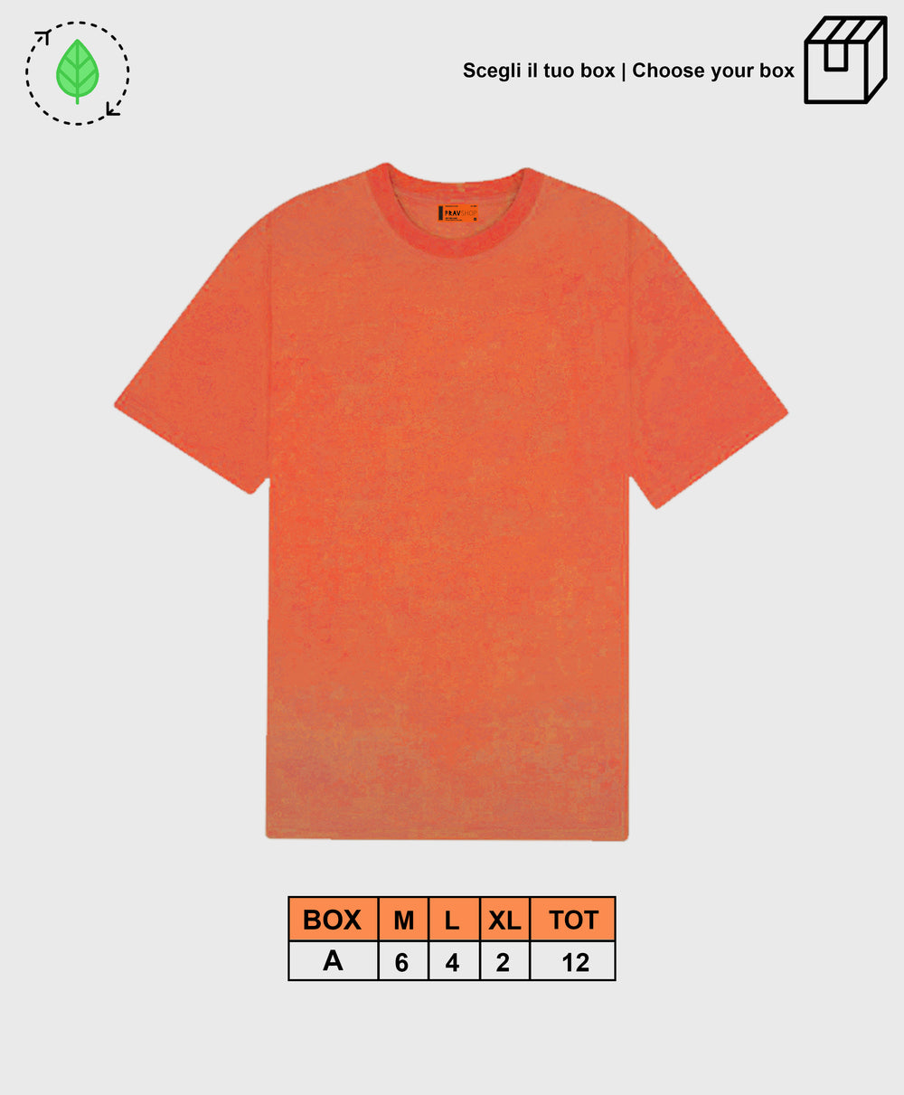 BASIC TEE ORANGE [ BOX A ]