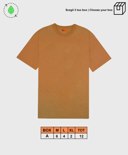 BASIC TEE LIGHT BROWN [ BOX A ]