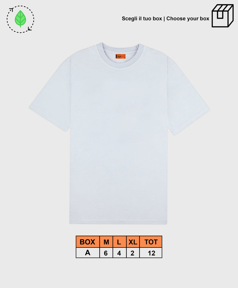 BASIC TEE WHITE [ BOX A ]